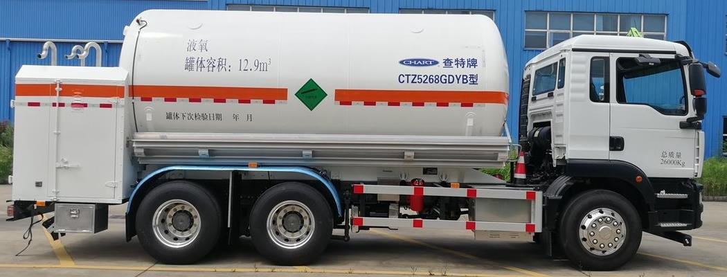 Orca cryogenic liquid delivery vehicle built in China