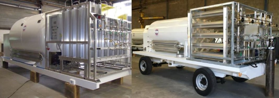 mobile gas filling stations