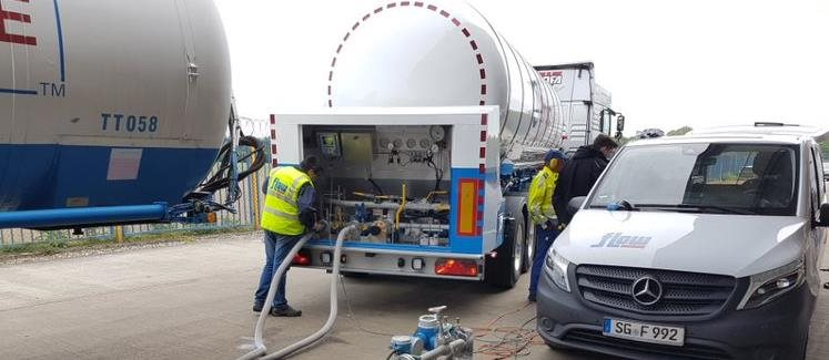 flow measurement liquid gas tanker