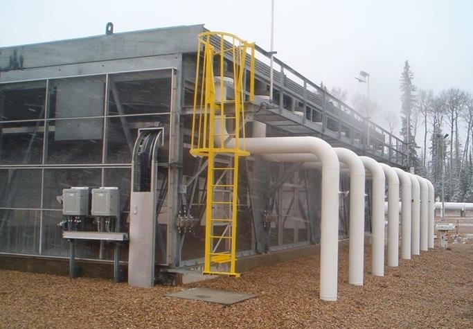 winterization of an air cooled heat exchanger work