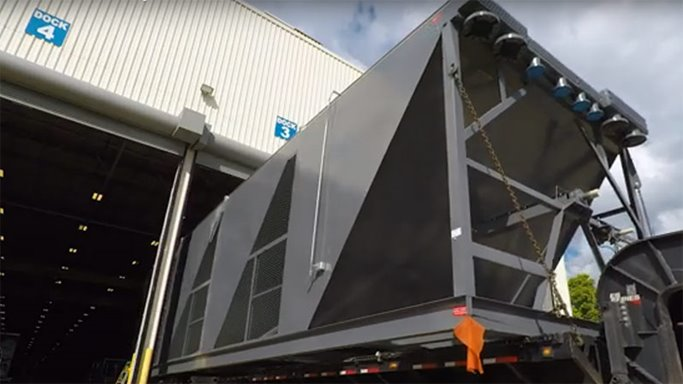 Harsco multi-fan air cooled heat exchanger